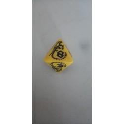 Dado 8 amarillo con...