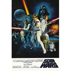 Poster Star Wars una nueva...