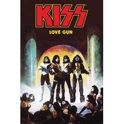 Poster Kiss (love gun)