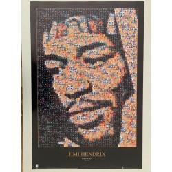 Poster fotomosaico de Jimi...