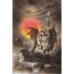 Poster Luis Royo diablesa