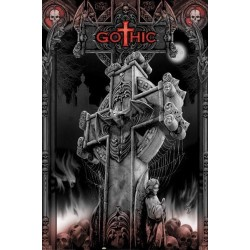 Poster Cruz Gothic