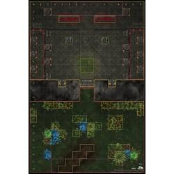 Mapa Okaara Temple indoor /...