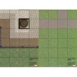 Mapa Avengers mansion...