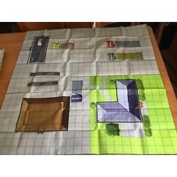Mapa A indoor / B outdoor...