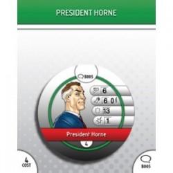 B005 - President Horne