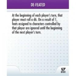 BF001 - De-feated