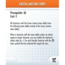 F005 - Green lantern Corps