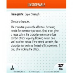 F006 - Unstoppable