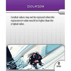 BF003 - Isolation