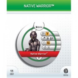 B006 - Native Warrior