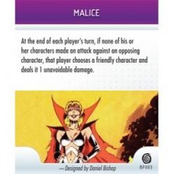BF003 - Malice