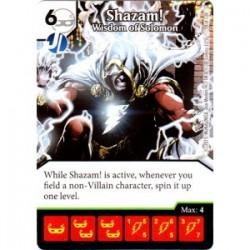 Shazam! - Wisdom of Solomon...