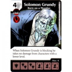 Solomon Grundy - Born on a...