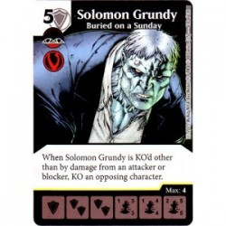 Solomon Grundy - Buried on...