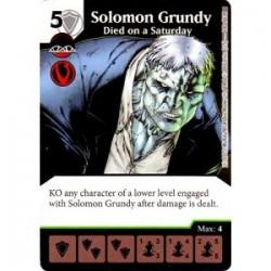 Solomon Grundy - Died on a...