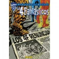 Biblioteca Marvel. Los 4...