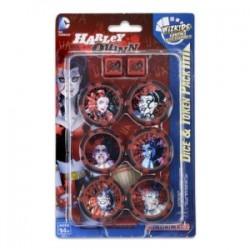 Harley Quinn Dice & Token Pack