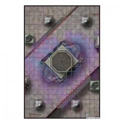 Mapa The mount Olympus /...