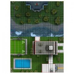 mapa Avengers Compound /...