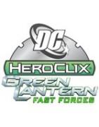 Figuras sueltas del starter Green Lantern Fast Forces.