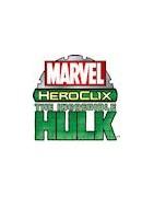 Figuras del set Marvel Incredible Heroclix Hulk.