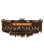 Living Card Game con titulo Warhammer Invasion.