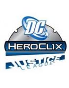 Figuras sueltas y material sellado de set DC Heroclix Justice League New 52.