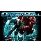 Material relacionado con el juego de mesa DreadBall: The Futuristic Sport Game.