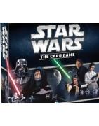 Material del juego de cartas LCG Star Wars.