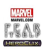 Material sellado y suelto de la colección de Marvel Heroclix Fear Itself.
