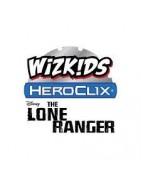 Figuras sueltas y material sellado de la colección Heoclix The Lone Ranger