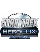 Figuras sueltas y material sellado del set de Heroclix Star Trek tactics 3