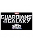 Figuras sueltas y material sellado del set de Marvel Heroclix Guardians Of The Galaxy Movie