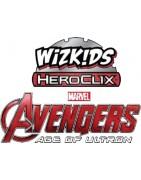 Material sellado y figuras sueltas de la colección Avengers Movie: Age Of Ultron
