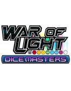 Material suelto y sellado del set War Of Light de DC Dice Masters