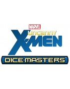 Material suelto y sellado del set Marvel Dice Masters Uncanny X-Men