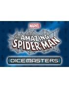 Productos sellado y sueltos del set Amazing Spider-man de Dice Masters
