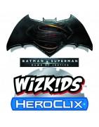 Figuras sueltas y material sellado del set DC Heroclix Batman Vs Superman: Dawn Of Justice