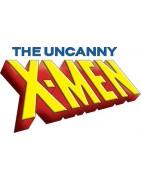 Figuras sueltas y material sellado del set Marvel heroclix Uncanny X-Men