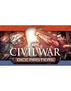 Material sellado y suelto del set Marvel Dice Masters Civil War.