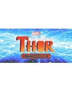Figuras sueltas y material sellado de la colección The Mighty Thor de marvel Heroclix