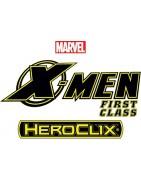 Figuras sueltas y material sellado del set Marvel Heroclix X-men Xavier's School.