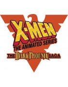 Figuras sueltas y material sellado del set Marvel Heroclix X-Men the Animated Series The Dark Phoenix Saga