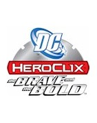 Figuras sueltas del set The Brave And The Bold Heroclix