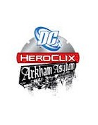 Venta de figuras Heroclix Arkham Asylum sueltas.